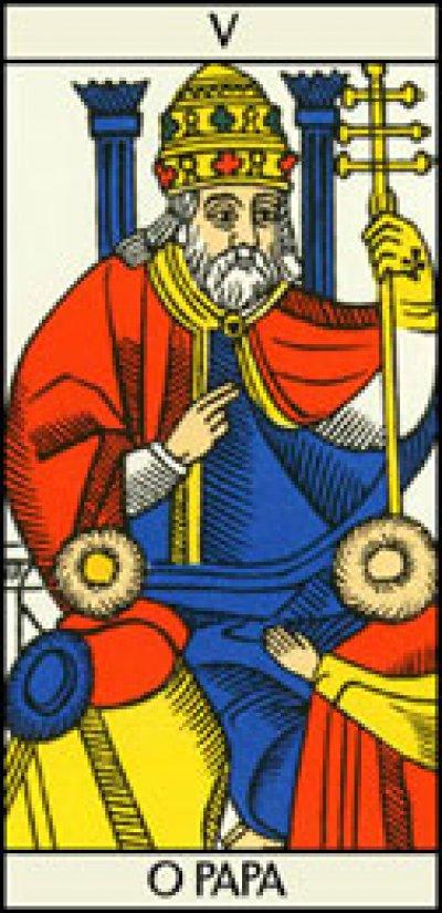 El Papa Arcano Mayor 5
